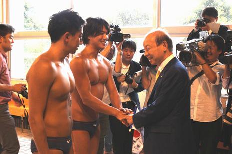 水球男子日本代表チーム[2]