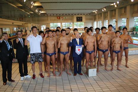 水球男子日本代表チーム[3]