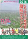 となみ庄川散居村縦断マラソン2016