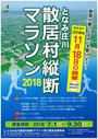 となみ庄川散居村縦断マラソン2018